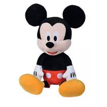 knuffel Disney Mickey Mouse 65 cm textiel zwart