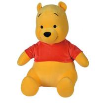knuffel Disney Winnie de Pooh 65 cm textiel geel/rood