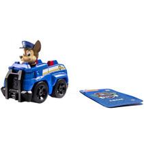 speelfiguur Paw Patrol Chase junior 10 cm blauw