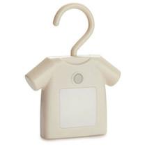 decoratieverlichting T-shirt junior 13 cm led ABS wit