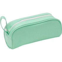 etui Soft Touch Pastel 21 x 8,5 cm groen