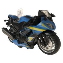motor 12 cm led die-cast blauw/geel