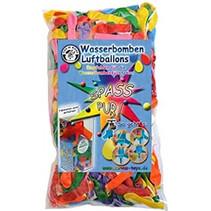 waterballonnen Spass junior rubber 250 stuks