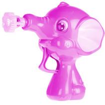 bellenblaaspistool olifant 50 ml 11 x 10 cm roze