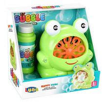 bellenblazer Happy Frog 17 x 17 x 11 cm lichtgroen