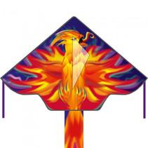 vlieger Phoenix junior 120 cm polyester rood 3-delig