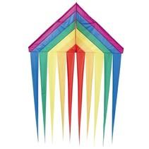 eenlijnskindervlieger Delta Rainbow 134 cm