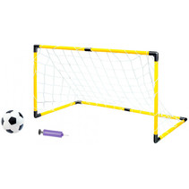 voetbalspel 120 x 57 x 63 cm geel/wit/zwart