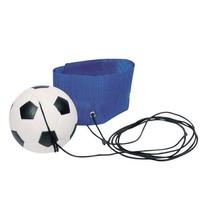 Voetbal Aan Armband: Blauw 6,3 cm