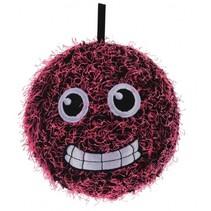 Opblaasbare monsterbal roze 15 cm