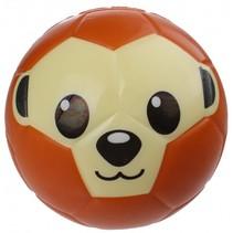 speelbal apengezicht 15 cm bruin/beige