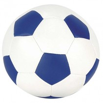 voetbal blauw 15 cm