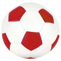 voetbal rood 15 cm