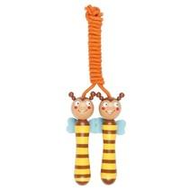 springtouw Krabbelkäfer bij geel/bruin 210 cm