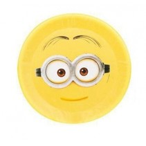 Minions frisbee Dave nylon geel 42 cm