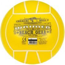 strandbal 21 cm geel