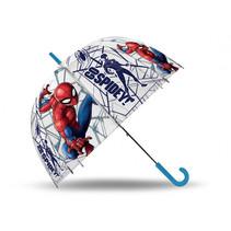 kinderparaplu Spider-Man 45,5 cm rood/blauw