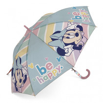 paraplu Minnie Mouse junior 48 cm groen