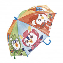 paraplu Top Wing junior 48 cm blauw/oranje