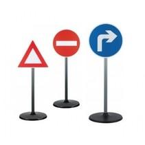 verkeersborden road sign 65 cm 3 stuks