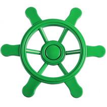 piratenstuurwiel voor speelhuisje 21,5 cm groen
