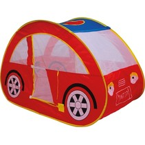 speeltent auto rood junior 130 cm