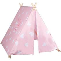 speeltent Tipi 116 x 110 x 100 cm meisjes roze