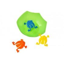 kinderspel Kikker junior 4 cm 4-delig