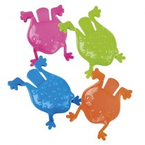 kinderspel Jumping Frogs junior 8 cm 4-delig