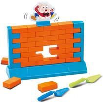 gezelschapsspel Bricks junior oranje/blauw