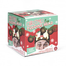 werpspel Pudding Head polyester bruin 4-delig