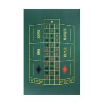 roulettekleed 60 x 100 cm wol groen