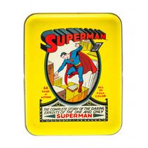 speelkaarten Superman aluminium/karton geel/rood
