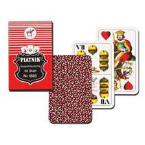speelkaarten Doppel Deutche karton 36-delig