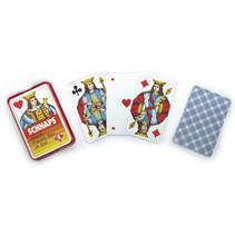 speelkaarten Schnapps karton blauw 24-delig
