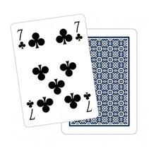 speelkaarten Poker karton blauw