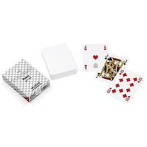 speelkaarten 8,8 x 6,3 cm PVC wit 55-delig