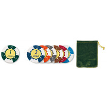 pokerchips 14,5 gram 101-delig