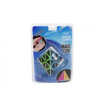 puzzelspel Magic Cube pyramide junior 6,5 cm zwart