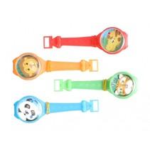 behendigheidsspel Puzzle Watches 15 cm 4 stuks