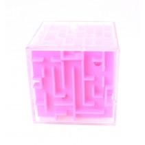 Hersenkraker Doolhof kubus roze