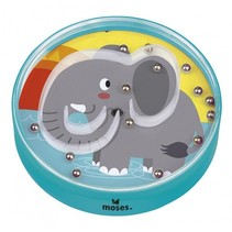 geduldspel Up and Down junior olifant 9,5 cm