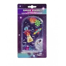 pinball mini game ruimte 19 cm paars