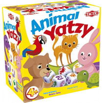 dobbelspel Animal Yatzy junior 12,4 x 8 cm