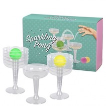 drankspel Sparkling Pong unisex 2-delig