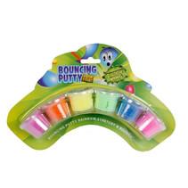 klei Bouncing Putty junior 12 gram 6-delig