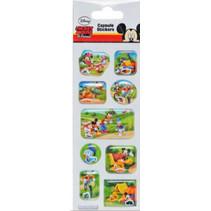 stickers Mickey Mouse Capsule junior vinyl 9 stuks