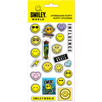stickers junior vinyl wit/geel