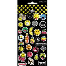 sticker junior vinyl zwart/geel