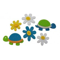 viltstickers schildpad